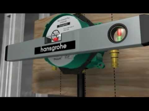 hansgrohe ibox universal system youtube. Black Bedroom Furniture Sets. Home Design Ideas