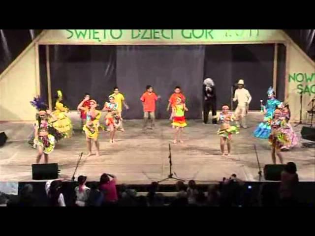 Danzas Temeri-Tambor Veleño y Sanata Lucia-Polonia 2.011