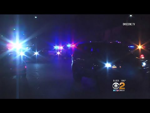 2 Officers Shot -- 1 Fatally -- In Pomona; Suspect In Custody