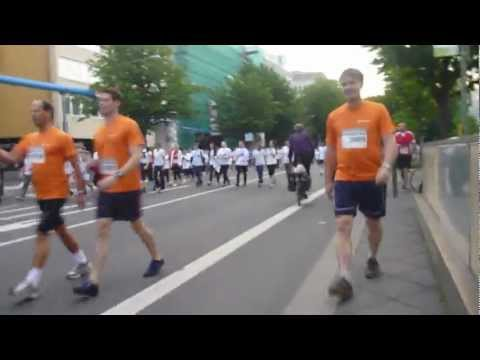 70.000 Starter beim JPMorgan Chase Corporate Challenge Run in Frankfurt | 2012