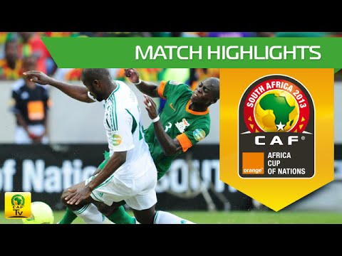Zambia - Nigeria | CAN Orange 2013 | 25.01.2013