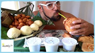 THE BEST FOOD FROM APIA & FUGALEI MARKETS | MUKBANG | PAGIPOPO PANIKEKE KEKE PUAA KOKO RICE