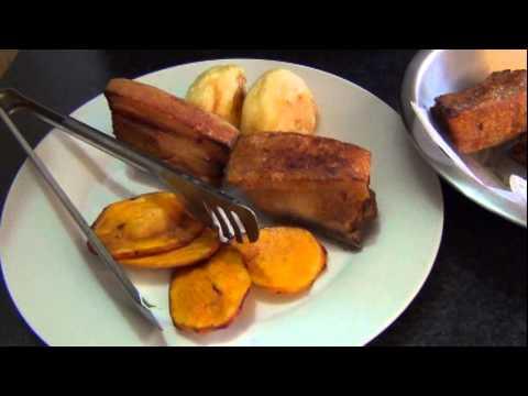 Receta de cocina Peruana - Como preparar Chicharron de Chancho