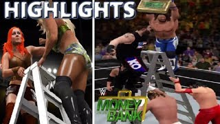 WWE 2K17 MONEY IN THE BANK 2017 FULL SHOW - PREDICTION HIGHLIGHTS