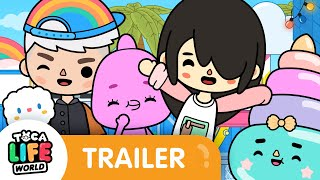 Before = 🤩 After = 🤪 | Amusement Park Trailer | Toca Life: World