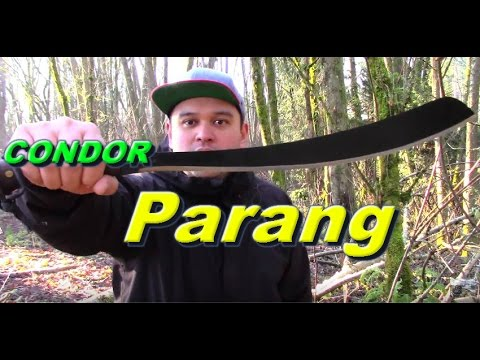 Condor Parang Machete Review-Urban NorthWest
