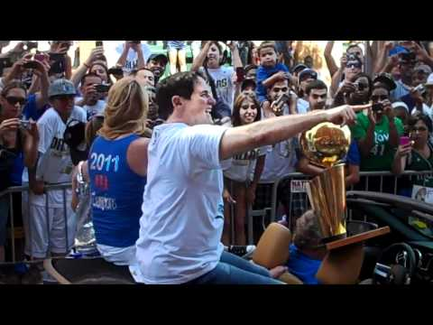 Dallas Mavericks Championship Parade - Mark Cuban