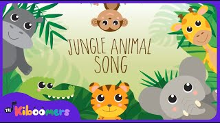 Jungle Animals Song | Kids Songs | Nursery Rhymes | The Kiboomers