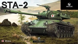 World of Tanks Xbox One | STA-2 Japon premium tank