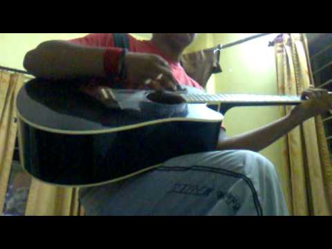 iktara (mail version) from wakup sid on guitar