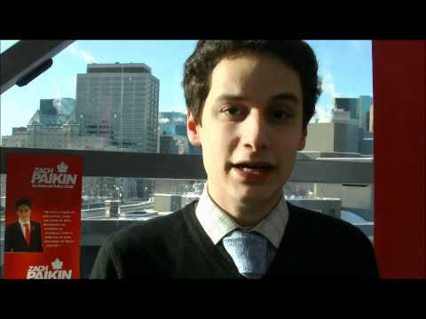 Zach Paikin at Liberal Caucus Jan 2012