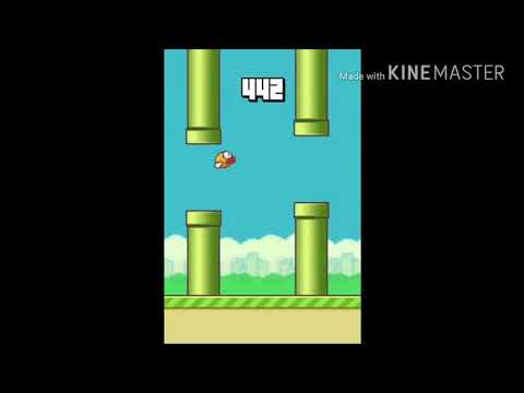 This is the end of Flappy bird!!!Hahaha!Full walkthrough.Game played by Real Ninja