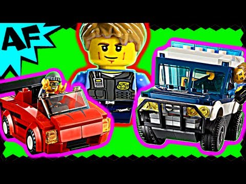 Lego City HIGH SPEED CHASE 60007Stop Motion Build Review