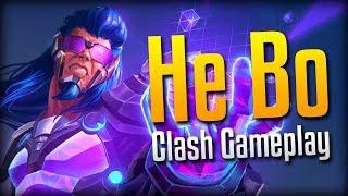 Smite: THOSE EFFECTS!- Pixel Rush He Bo Clash Gameplay