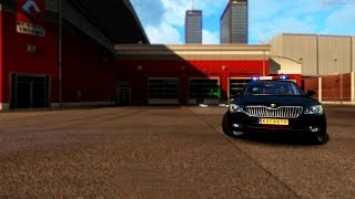 Euro Truck Simulator 2 Multiplayer | Police Car Mod | Test Drive | ets2mp.com |