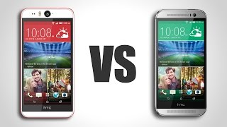 HTC Desire Eye Vs. HTC One M8