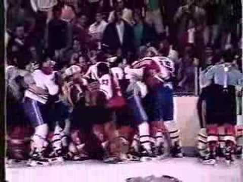 '87 Flyers / Canadiens Pre Game Brawl