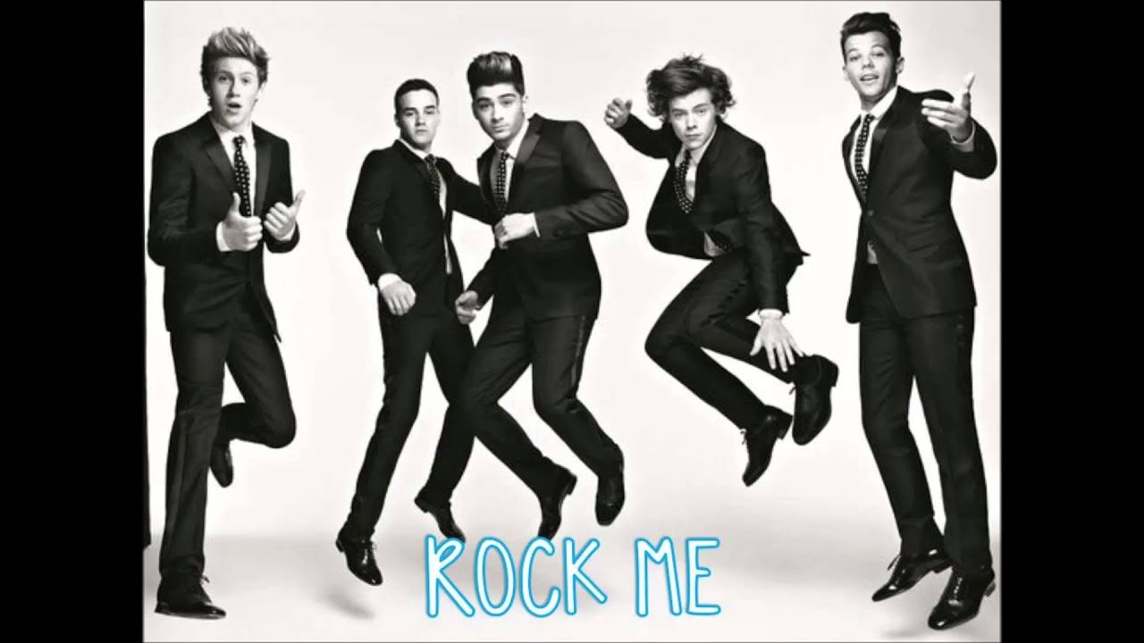 One Direction Rock Me Album Cover One Direction   Rock Me