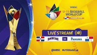 Dominican Rep v Panama - Super Round - U-15 Baseball World Cup 2018