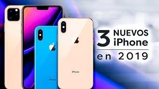 Apple lanzará 3 NUEVOS iPhone en 2019