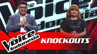 Abraham vs Artha | Knockouts | The Voice Indonesia GTV 2018
