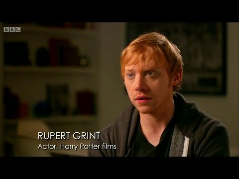 Rupert Grint in Julie Walters: A Life On Screen Documentary 2014