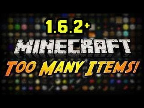 Minecraft 1. 6. 4 + II Too Many Items Mod with Forge (Voice Tutorial + Download) [HD]