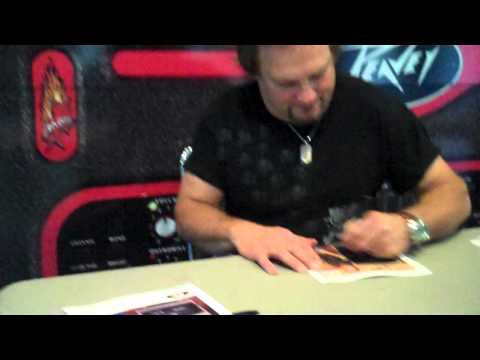 Quick chat with Michael Anthony at NAMM 1-26-13