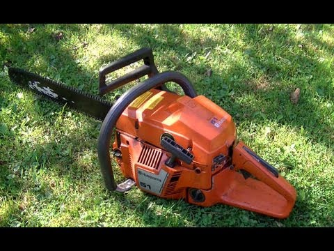 How To Replace The Clutch Spring On A Husqvarna 51 Chainsaw