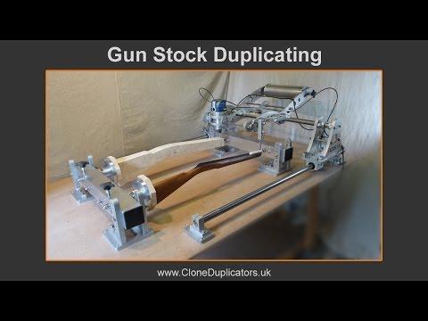 Clone 3D Pro Router Duplicator. Gun Stock Duplicating.