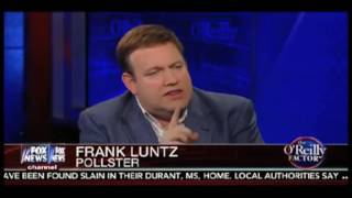 Aug. 25, 2016 - Frank Luntz on The O'Reilly Factor