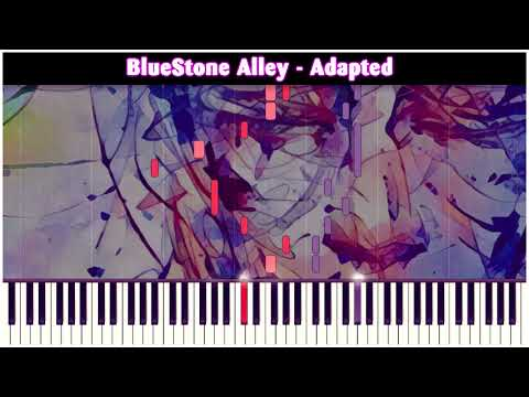 [Synthesia] Bluestone Alley-Adapted - Congfei Wei | Piano Tiles 2 (Orchestra)