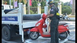 Quy định mới nhất về tạm giữ xe máy, ô tô vi phạm giao thông