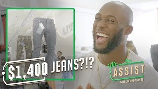 Leonard Fournette Highlights His Style and Gives Fashion Tips   The Assist