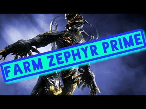 How To Get Zephyr Prime | Warframe Relic Farming Guide