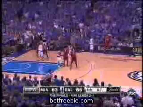 MUST SEE Dallas Beat Miami  Game 4 Final Play  Wade Butterfingers  Series Tied 2 2 Mavericks Win NBA