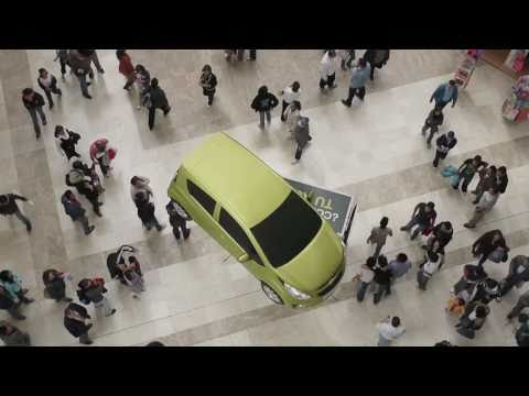 Flying Chevrolet Spark - Flying Car - Mexico City - Volando - Volador - Vuela