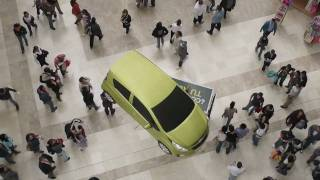 Flying Chevrolet Spark - Flying Car - Mexico City - Volando - Volador - Vuela