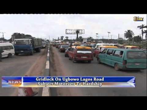 Gridlock on Ugbowo Lagos Road subject motorists to hardship