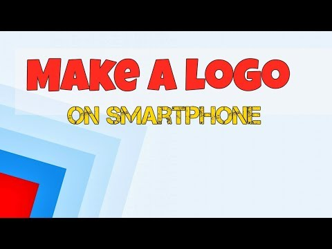 How to make logo on Smartphone | Logo Maker