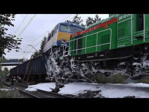 Wypadek Kolejowy W Tczewie.