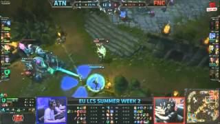 Video clip [LCS EU Mùa Hè 2013] [T2 - N2] Team Alternate vs Fnatic [23.06.2013]