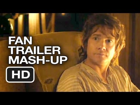 The Hobbit: An Unexpected Journey Fan Trailer MASH-UP (2012) - Peter Jackson Movie HD