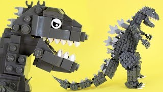 How to Build LEGO Godzilla | Custom LEGO Kaiju
