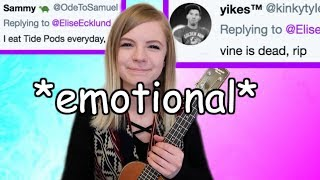 i made a song from your wonderful tweets