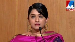 meera jasmine burst out on atrocities on women manorama news