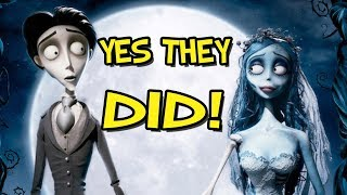 The Corpse Bride Easter Eggs