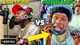 Download lagu RAPPERS RECORDING IN THE STUDIO VS THE FINISHED RAP SONG