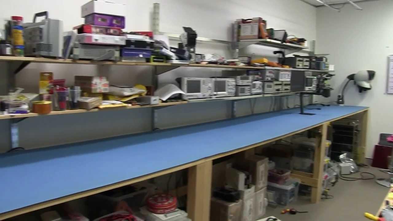 Eevblog 585 Lab Bench Esd Matting Upgrade Tagarno Hd