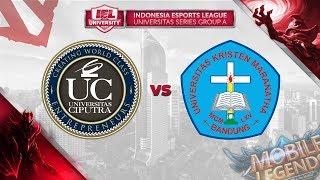 UNIVERSITAS CIPUTRA VS UNIVERSITAS KRISTEN MARANATHA @IEL 2019 University Series (MLBB - DOTA 2)
